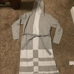 NWT New York and Co Hooded Duster